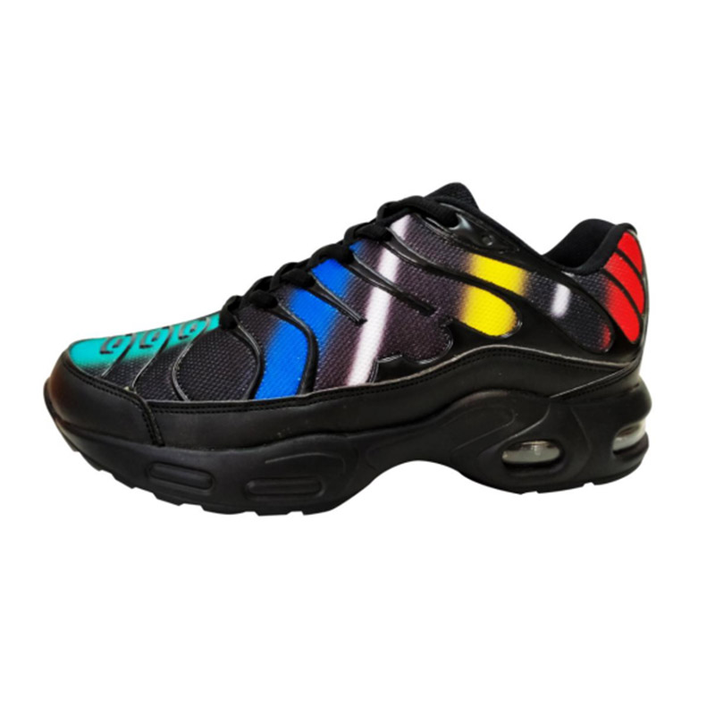 Air cushion men sports running shoes  (1)